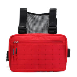 Сумки для бедер онлайн-2019 Alyx Chest Rig Bag  Nylon  Waterproof Fanny Pack Hip Hop Chest Rig Streetwear Unisex Kanye West Waist Bag