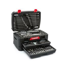 Ensemble d'outils de mécanique car.268 pièces Husky avec trousse de réparation pour clés métriques à douille SAE ? partir de fabricateur