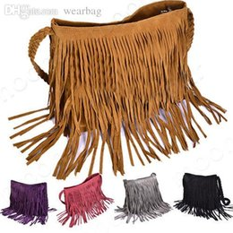 nom des marques d'embrayage Promotion Sacs à main en gros-Femmes Marque en gros de la marque Star Fashion Glands Bags Hobo Clutch Purses Shoulder Bag 5 Couleurs