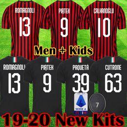 238f4fb119f35 2019 football milan ac Maillot de football 2019 2020 AC milan 19 20 maillots  de football