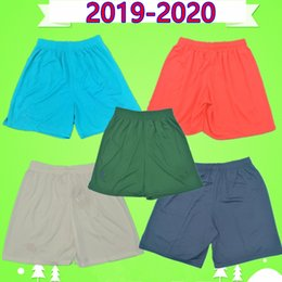 Corti arancione online-2019 2020 psg soccer shorts 19 20 third white home blue away orange goalkeeper green paris football pants maillots de foot MBAPPE CAVANI