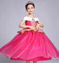 Canada Style stylistes de luxe créateurs baptême Europe Bud soie États-Unis princesse robe filles robe performance vêtements beauté en plein air Offre