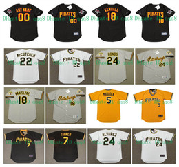 2020 barry bonds baseball Barry Bonds Vintage Jersey Stargell ELLIS Madlock Andy Van Slyke AL ​​OLIVER ARAMIS RAMIREZ Bert Blyleven BOB WALK retro do basebol barry bonds baseball barato