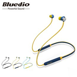 Argentina 2018 Bluedio Tn Bluetooth Auriculares con cancelación activa de ruido en la oreja los auriculares con micrófono para teléfono Iphone Xiaomi J190506 cheap noise cancelling bluetooth headphones microphone Suministro