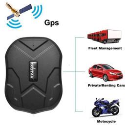 système d'alarme moto gps Promotion TKSTAR TK905 Quadri-bande GPS Tracker Étanche IP65 En Temps Réel Dispositif De Suivi De Voiture GPS Locator 5000 mAh Longue Durée De Vie Batterie Batterie Veille 120 jours