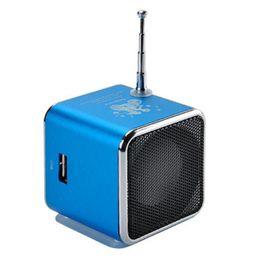 museeq W-047CC цифровой FM-радио Micro SD / TF карты цифровой интернет-радио портативный FM мини алюминиевый динамик AUX аудио supplier speaker internet radio от Поставщики диктофон интернет-радио
