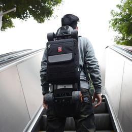 prateleira Desconto Mackar Original design de ombro Skate Bag duplo Rocker Peixe pequena placa elétrica skate saco preto da cor no estoque