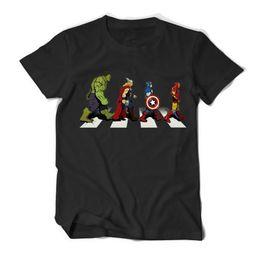 Camisetas de niño online-Avengers 4 Endgame Print Designer Mens Tshirts Marvel Comics Especial Mens Tops Moda cuello redondo manga corta Boy Tees