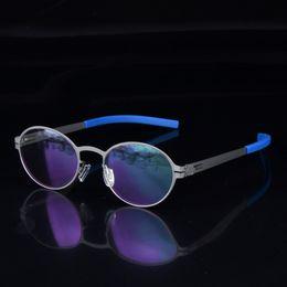 2019 occhiali da vista leggeri Creativo spettacolo personalità occhiali uomini telaio Scewless occhiali di marca miopia lettura occhiali da vista leggero occhiali da vista leggeri economici