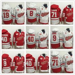 Mens Centennial Classic Dylan Larkin 9 Gordie Howe Steve Yzerman Justin  Abdelkader 40Henrik Zetterberg Detroit Red wings Hoodies Sweatshirt 2a32273e6