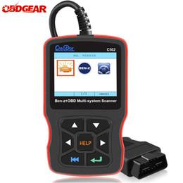 Outil mercedes obd2 en Ligne-Outils de diagnostic du créateur C502 OBD2 pour le benz de Mercedes W211 W210 C200 W203 W204 de soutien ABS Airbag OBD 2 lecteur de code d'autoscanner