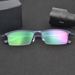 961d7aa31c Half Rim Alloy Front Rim Flexible Plastic TR-90 Temple Legs Optical  Eyeglasses Frame for Men and Women Eyewear