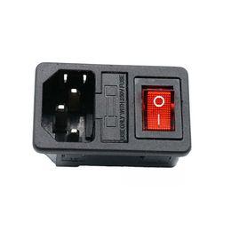 Canada 10A 250V AC Prise de courant Prise de courant à bascule à fusible Prise IEC 320 C14 avec prise de courant à usage domestique Offre