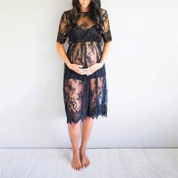 1bf9fbdca ropa sexy del embarazo Rebajas Vestidos de maternidad para sesión de fotos  Mujeres Embarazo de maternidad