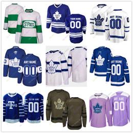 2019 case di foglie di acero Custom Jersey 2019 Winter Classic Toronto Maple Leafs Home Away Terza salute giovanile delle donne al servizio case di foglie di acero economici