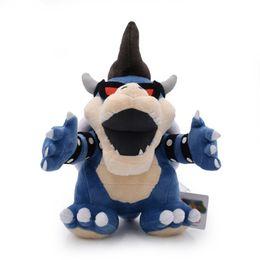 Boneca de brinquedo super fofa e fofa on-line-30 cm Super Mario Toy Plush Escuridão Koopa Recheado Travesseiro Boneca Bonito Macio de Alta Qualidade Menino E Menina 31yc D1