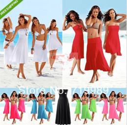 056e98c953 sexy bikini skirt cover Promo Codes - Sexy Women 3 in 1 Strapless Bikini  Cover Up