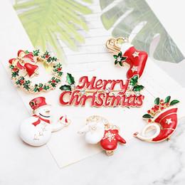 носки для животных Скидка Счастливого Рождества эмаль броши булавка женщины дерево снеговик галстук носок обувь лося перчатки гирлянда нагрудные знак для мужчин мода ну вечеринку ювелирные изделия подарок
