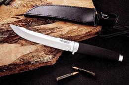 11'New Cold Steel Rubber Handlde VG1 Steel Outdoor Cuchillo de caza 044 desde fabricantes