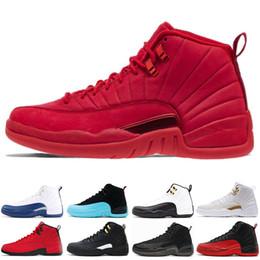 timeless design aac96 fe13c Nike air jordan 12 12s I migliori sconti 12 12s uomo Scarpe da basket  Sneakers nero bianco PLAYOFF THE MASTER Gym rosso gamma blu 12s scarpe  sportive da ...