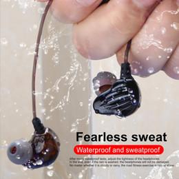 Lg ohrlautsprecher online-Kabelgebundene Kopfhörer CK4 In-Ear-Kopfhörer mit vier Adern Doppelt wirkender Spulenlautsprecher HIFI-Subwoofer Wasserdichte Kopfhörer 2 STÜCKE Lieferung
