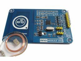 módulo leitor rfid Desconto PN532 NFC RFID V2.0 Escritor Leitor Escritor Shield Breakout Módulo Compatível Arduino