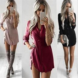 Camicetta femminile formale online-Nuovo più la camicia delle donne camicette Moda Autunno Bianco corpo lungo manica Camicie Top Cotton formale camicetta