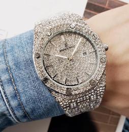 rabo de cavalo preto ombre cabelo Desconto 121 Audemars Piguet Nova marca de luxo Quartz Assista Mulheres Homens diamante relógios em aço inoxidável Relógios de pulso Relógios Moda