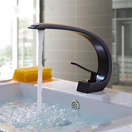 moderne waschbecken Rabatt Messing Becken Armaturen Moderne Badezimmer Mischbatterie Wash Einhand Einloch Elegante Kranöl Eingerieben Bronze