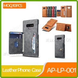 Samsung note celulares online-10x funda trasera de cuero para teléfono 5 colores Fundas para celular para Samsung note 8 9 10 S10 S10 plus S10 lite A20 para Huawei P20 P20proDHL Envío gratis