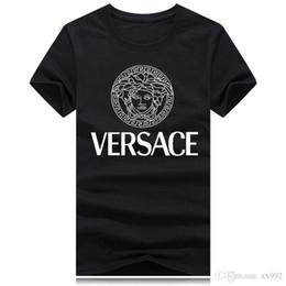 eismannt-shirt Rabatt Sommer mercerisiertes Baumwoll-Herren-Kurzarm-T-Shirt mit Rundhalsausschnitt und Trend-Baumwoll-Baumwoll-Herrenhemd