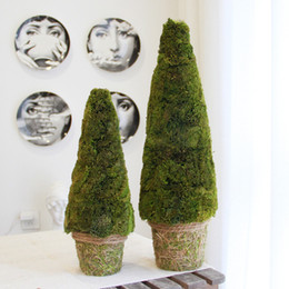 2019 verdadeiras árvores de natal Verdadeiro Natural Árvore Verde Preservada árvore de Natal Artifical Navidad 2019 Noel Início Ano Novo Verde Bonsai Mesa Decor verdadeiras árvores de natal barato