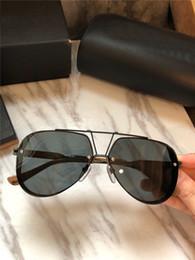 2019 óculos de sol designer polarizar Novos homens marca desinger óculos de sol new york designer óculos de sol piloto de metal frame revestimento lente polarizada óculos de estilo UV400 lente óculos de sol designer polarizar barato