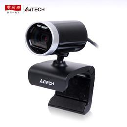 2019 desktop na web A4TECH PK-910H Webcam HD 1080 P USB Filmadora Com Microfone Web Cam Para Notebook Laptop Desktop câmera Web Automática desktop na web barato