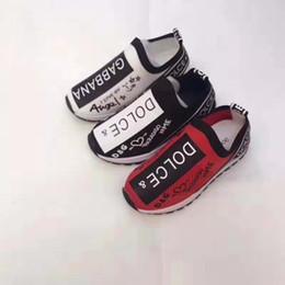 2020 zapatos de tela para niños Kid Boy zapatos zapatillas de deporte de los zapatos de moda del bebé del deporte Los niños pequeños niña Tela resbalón en los zapatos del niño del chica del tenis Trainer zapatos de tela para niños baratos