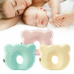 2019 almohada terapia de sueño Faroot cuna de bebé almohada evitar que la cabeza plana cuello Sydrome Para la muchacha del muchacho del amortiguador de dormir