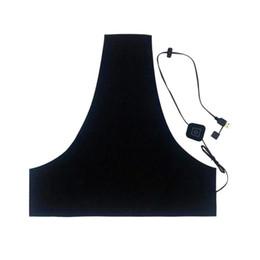 Electric heat pad on-line-5V 2A Washable USB Electric aquecimento Vest Pad 3 Gear DIY térmica aquecida Mats