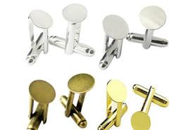 Botões mistos da roupa on-line-misturar estilos de cores de mistura 6mm-25mm abotoaduras camiseta roupas francesas homens abotoaduras acessórios jelwery DIY mão homem Abotoaduras bandeja botões de metal