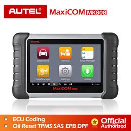 Autel MaxiCOM MK808 OBD OBD2 EOBD Herramienta de diagnóstico Escáner automotriz Lector de código programador clave MX808 Cable de diagnóstico OBDII para automóvil desde fabricantes