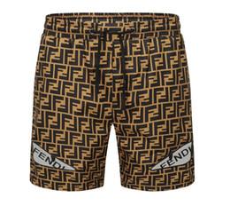 Maillot de bain en Ligne-Mode FENDI Shorts Hommes Summer Beach Shorts PantsTop maillots de bain de qualité Homme Surf Natation Natation Natation à séchage rapide Troncs de sport maillots de bain