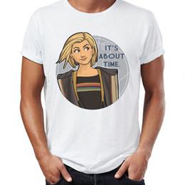 Camiseta para hombre Decimotercer doctor Who Feminismo Artsy Primeras mujeres Doctor Tardis Tee desde fabricantes
