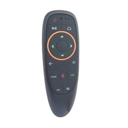 voz de mouse de ar remota Desconto G10 Wireless do giroscópio 2.4G Gxis do rato remoto do ar G10 com aprendizagem de controle remoto do IR da voz
