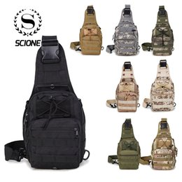 small blue bowl Promo Codes - Scione Men Nylon Waterproof Camouflage Chest Bags Shoulder Backpack Fashion Military Outdoor Sports Crossbody Hiking Travel Bag Y19061102