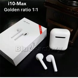 4c5808895cd bluetooth headset iphone small ear Promo Codes - i10 max TWS Wireless  Earpiece Bluetooth Earphones Earbuds