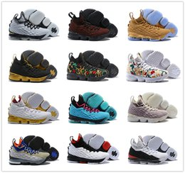 premium selection 6c931 d99d0 Neueste Lebron 15 Männer Basketballschuhe South Beach Zoom Generation Jamen  15s Sneakers Mens Designer Trainer Schuhe lebron basketball sneakers im  angebot