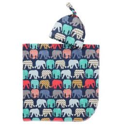 2019 cobertor de swaddle simples Cobertor Swaddle Bebê Infantil Meninos Meninas Cobertores de alpaca + chapéu Floral Impresso Algodão Macio Sacos De Dormir Animal Dos Desenhos Animados Saco de Dormir T0361