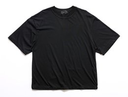 Justin bieber roupas branco on-line-Homem streetwear justin bieber camisetas urbanas roupas Kanye planície branco / cinza / preto camisas de grandes dimensões em branco camiseta