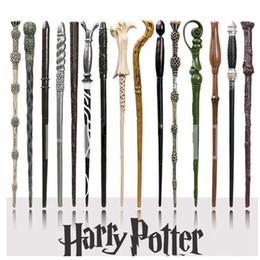 Scatola di ferri di potter harry online-41 Stili Bacchetta magica di Harry Potter Hogwarts Bacchetta magica di Harry Potter Serie Bacchetta magica di Harry Potter con confezione regalo ZZA1091