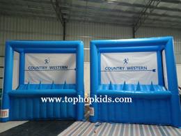 Equipamentos de jogo ao ar livre on-line-Preço de fábrica ao ar livre / indoor play ground inflável equipamentos de tiro com arco para venda com frete grátis