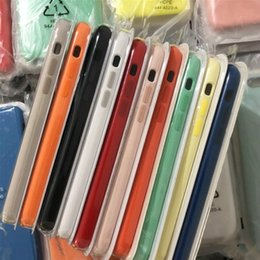 2019 модели мобильных телефонов sony ericsson Лучшее качество 100% оригинал Официальный жидкий силиконовый чехол для iPhone 6 7 8 плюс X XS MAX XR с мягкой микрофиброй Ткань подкладка чехол